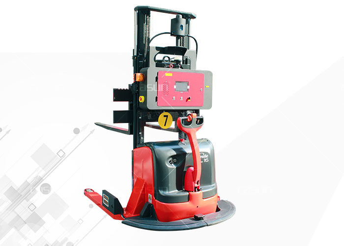 1.5T Maximum Capacity Laser Guided Forklifts AGV Material Handling Easy Maintaining