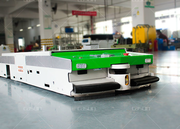 Mobile Automated Guided Vehicles , AGV Auto Guided Vehicle 360 Turnable Rail Guidance