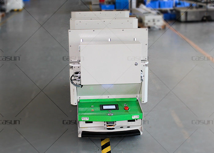 Roller Conveyor AGV Autonomous Guided Vehicle Automatic Charging For Supermarket
